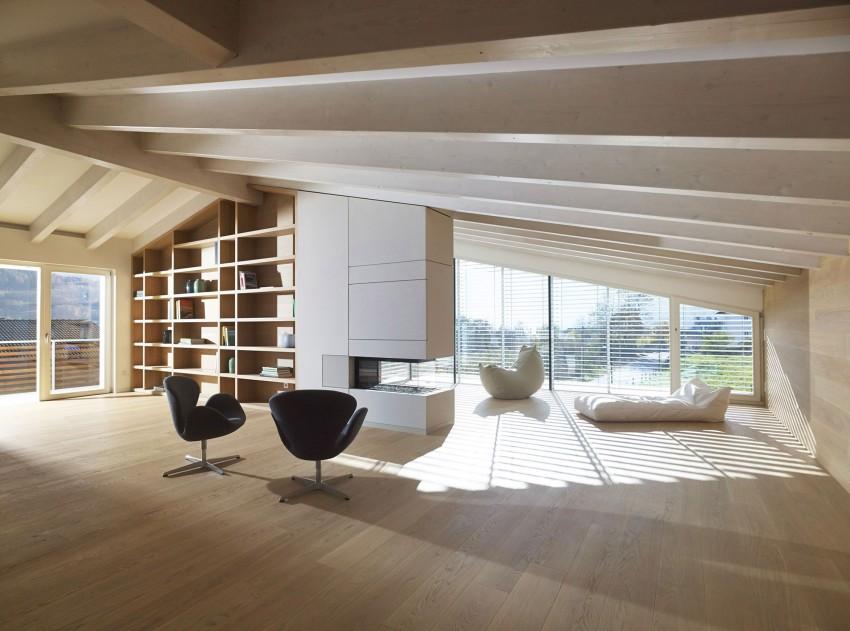 Гостиная особняка MP от Burnazzi Feltrin Architetti