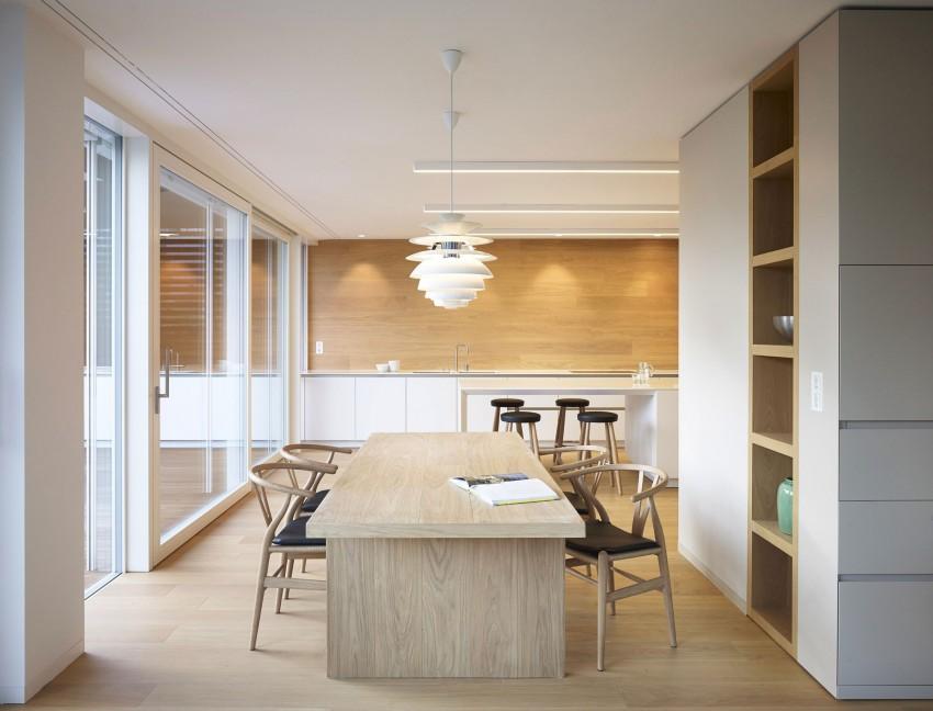 Столовая особняка MP от Burnazzi Feltrin Architetti
