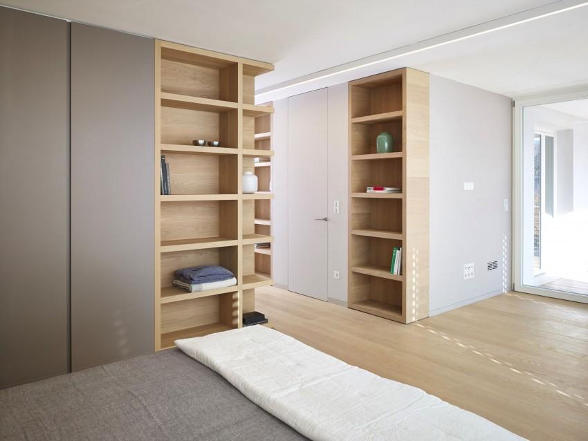 Спальня особняка MP от Burnazzi Feltrin Architetti
