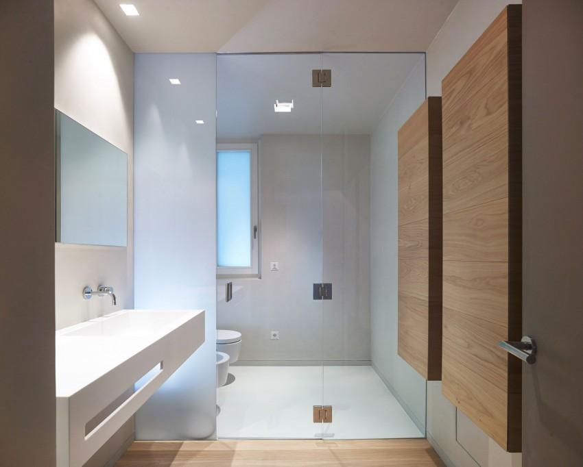 Ванная особняка MP от Burnazzi Feltrin Architetti