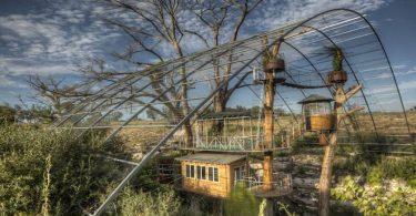 Дом на дереве для отдыха от ArtisTree