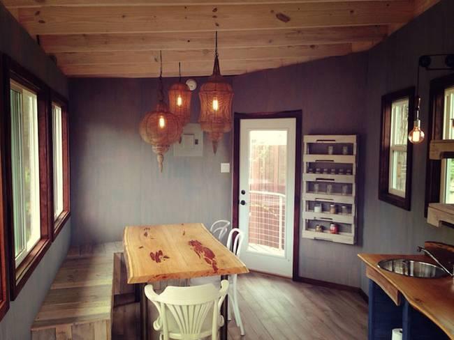 Дом на дереве для отдыха от ArtisTree. Общая кухня