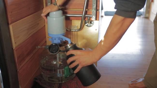 Питьевая вода в доме на колёсах
