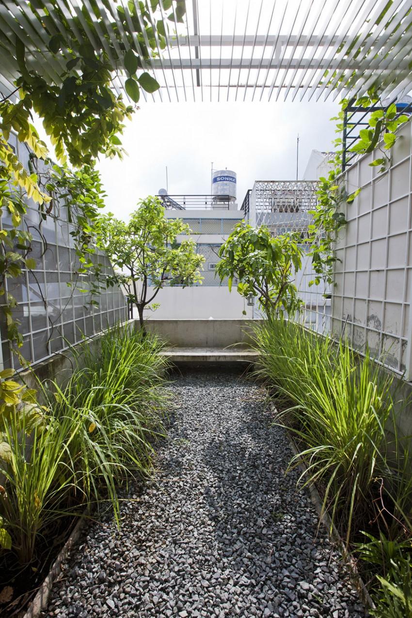 Сад на крыше дома от DD concept