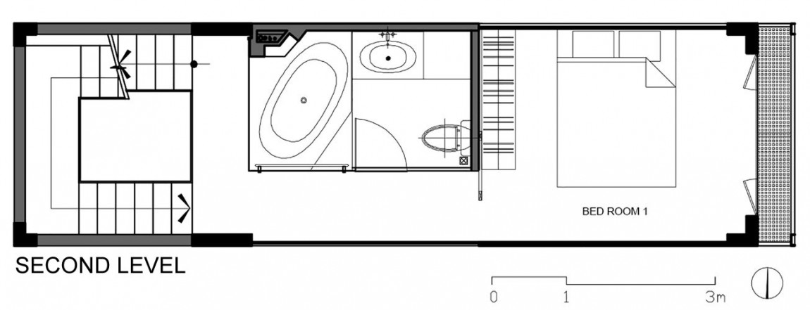 Планировка второго уровня дома от DD concept