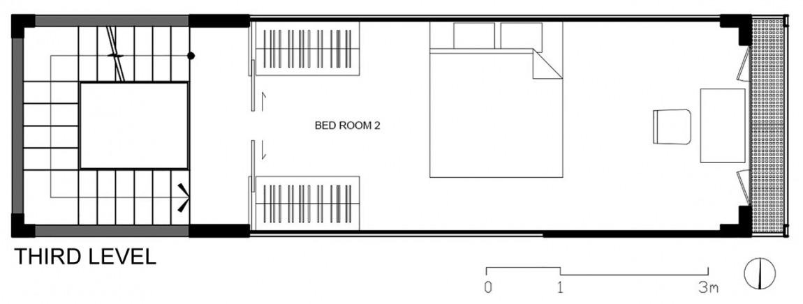 Планировка третьего уровня дома от DD concept