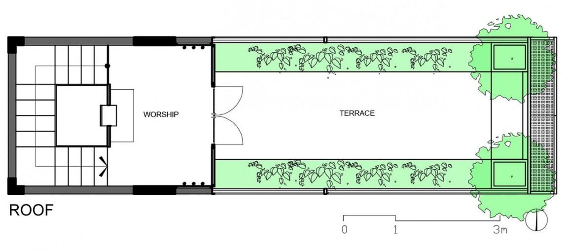 Планировка крыши дома от DD concept
