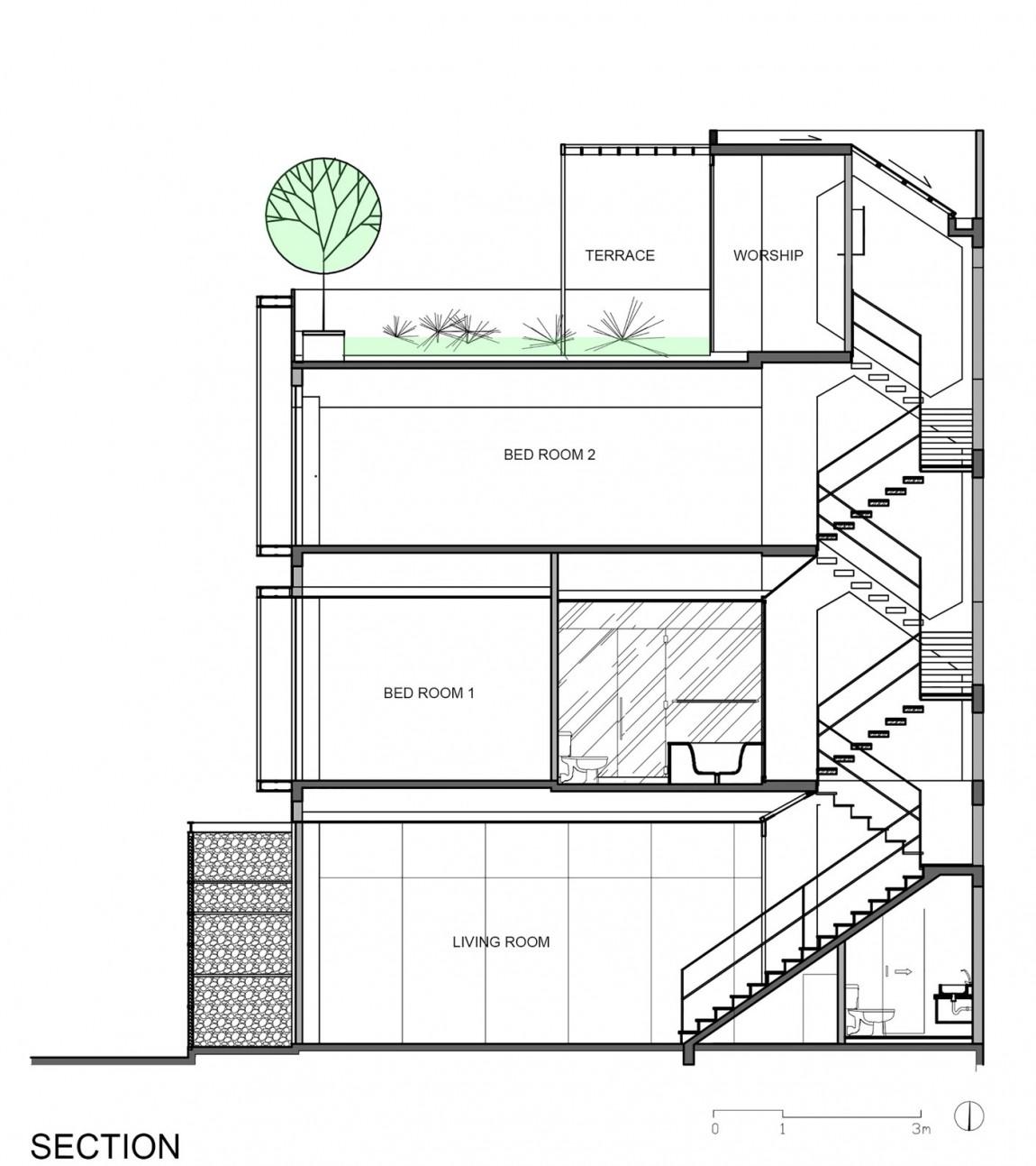 Планировка дома от DD concept