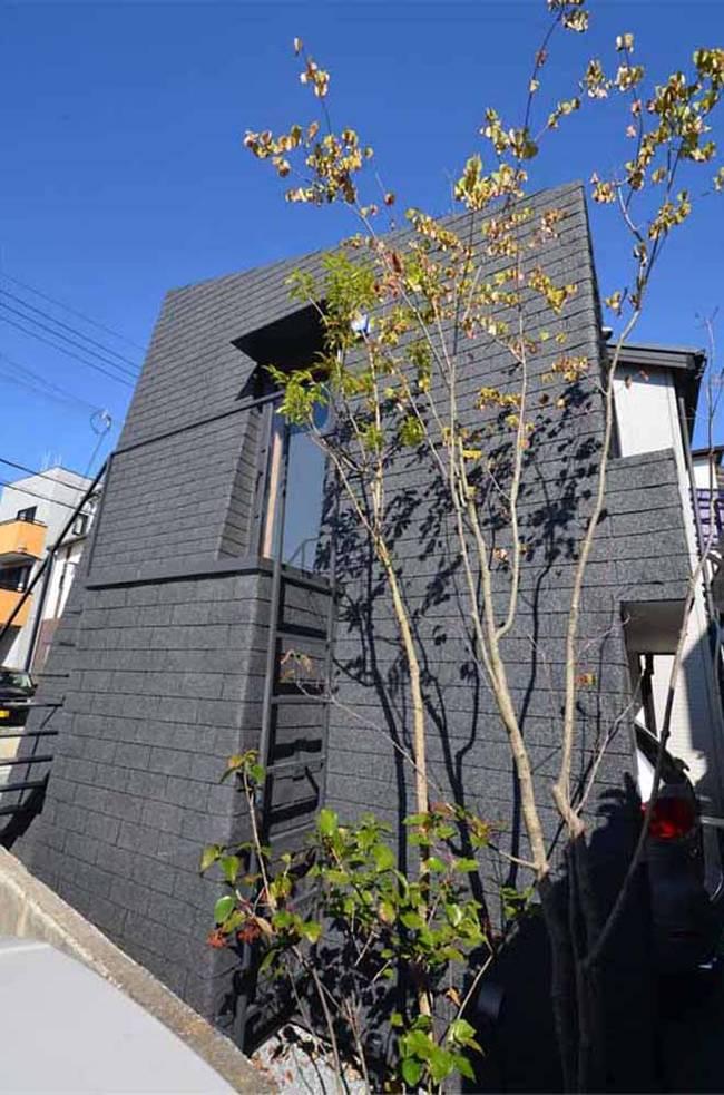 Современный дом необычной формы