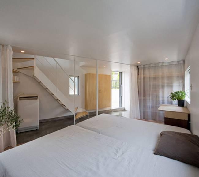 Спальня в доме странной формы - фото 2