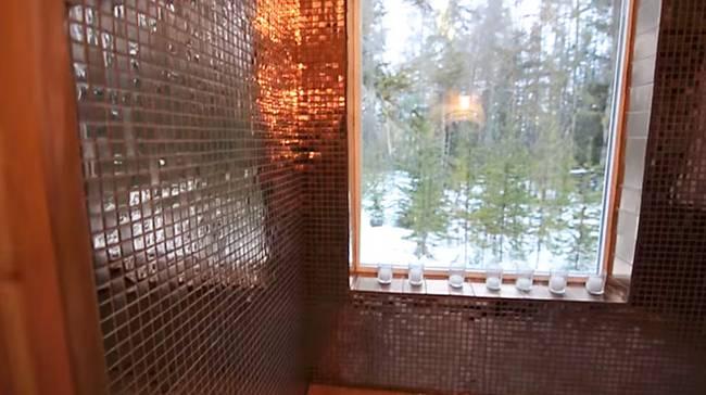 Ванная комната в доме на колёсах