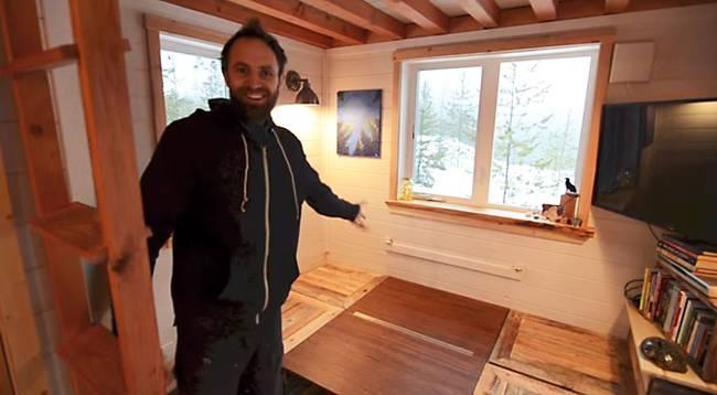 Трансформируемая мебель в доме на колёсах