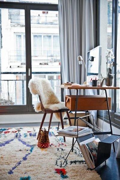 Интерьер домашнего кабинета - оригинальная идея