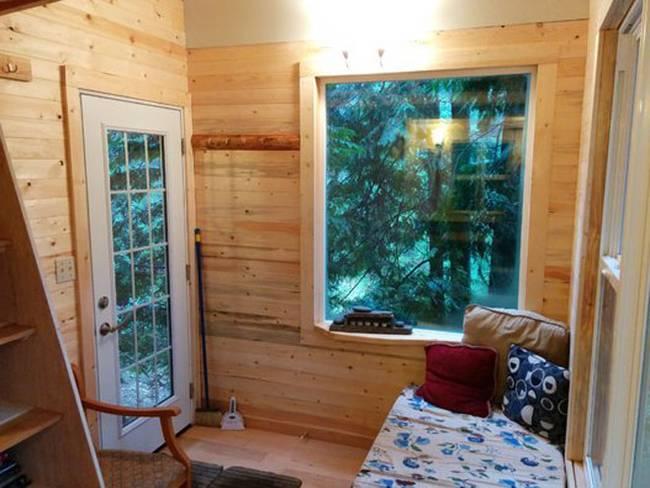 Домик на дереве с лестницей. Фото 2