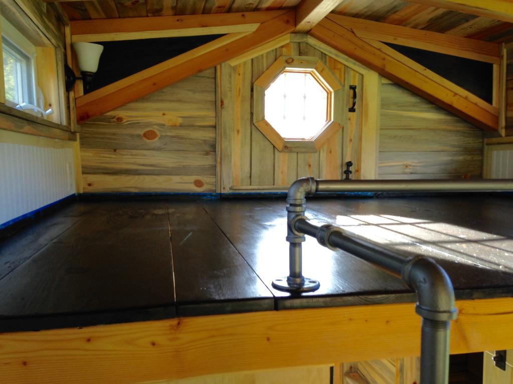 Чердак домика в морском стиле
