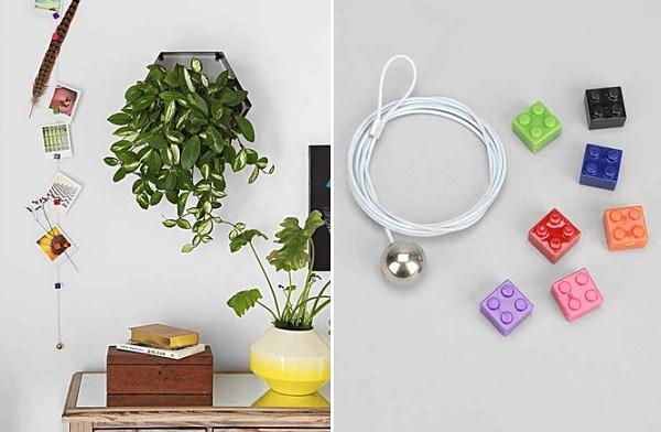 Яркие декоративные детали и растения
