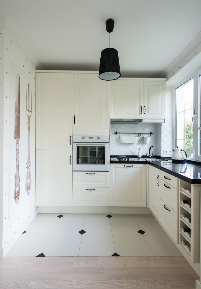 Кухня роскошных апартаментов от Марии Дадиани