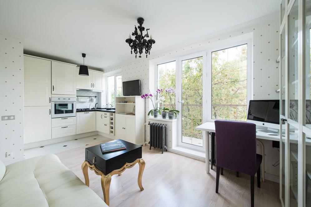 Интерьер роскошных апартаментов от Марии Дадиани