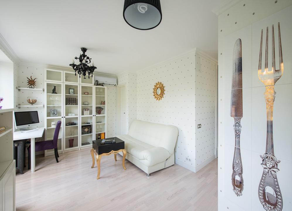 Гостиная роскошных апартаментов от Марии Дадиани