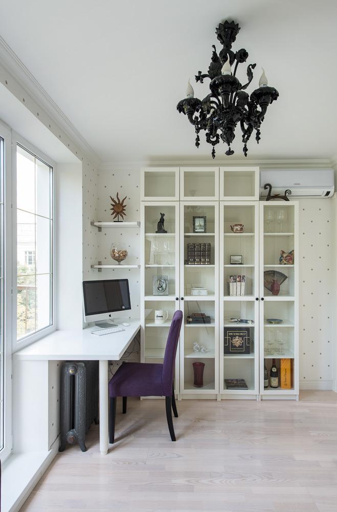 Кабинет роскошных апартаментов от Марии Дадиани