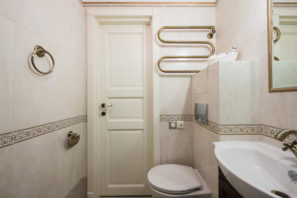 Санузел роскошных апартаментов от Марии Дадиани