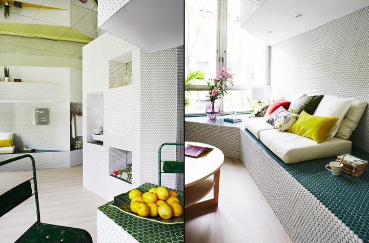 Мозаичный дизайн небольшой квартиры - фото 3