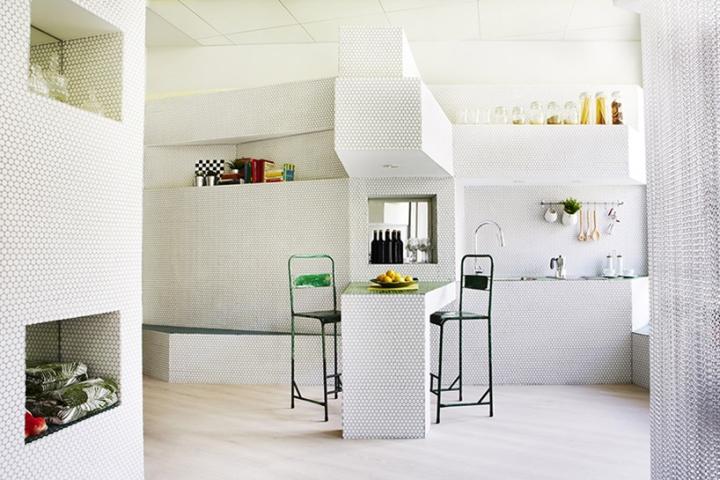 Мозаичный дизайн небольшой квартиры - фото 5