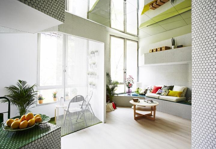 Мозаичный дизайн небольшой квартиры - фото 6