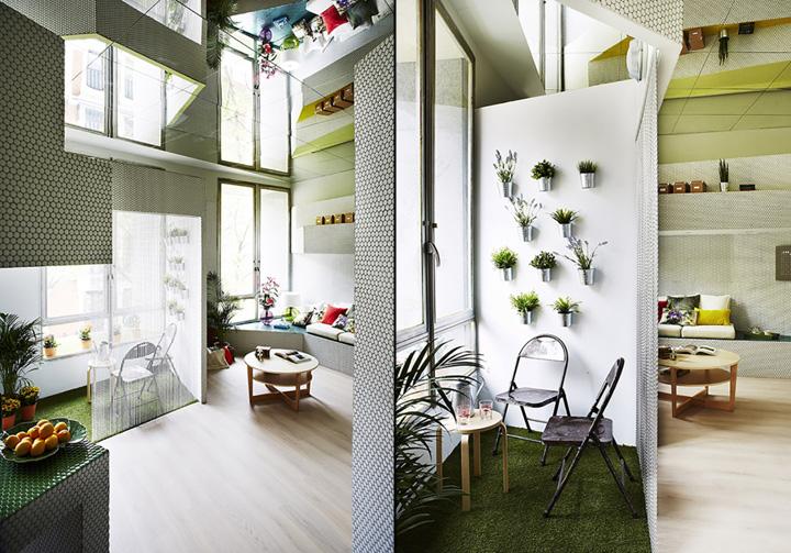 Мозаичный дизайн небольшой квартиры - фото 7