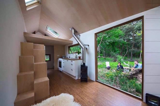 Фото дизайна внутри загородного дома