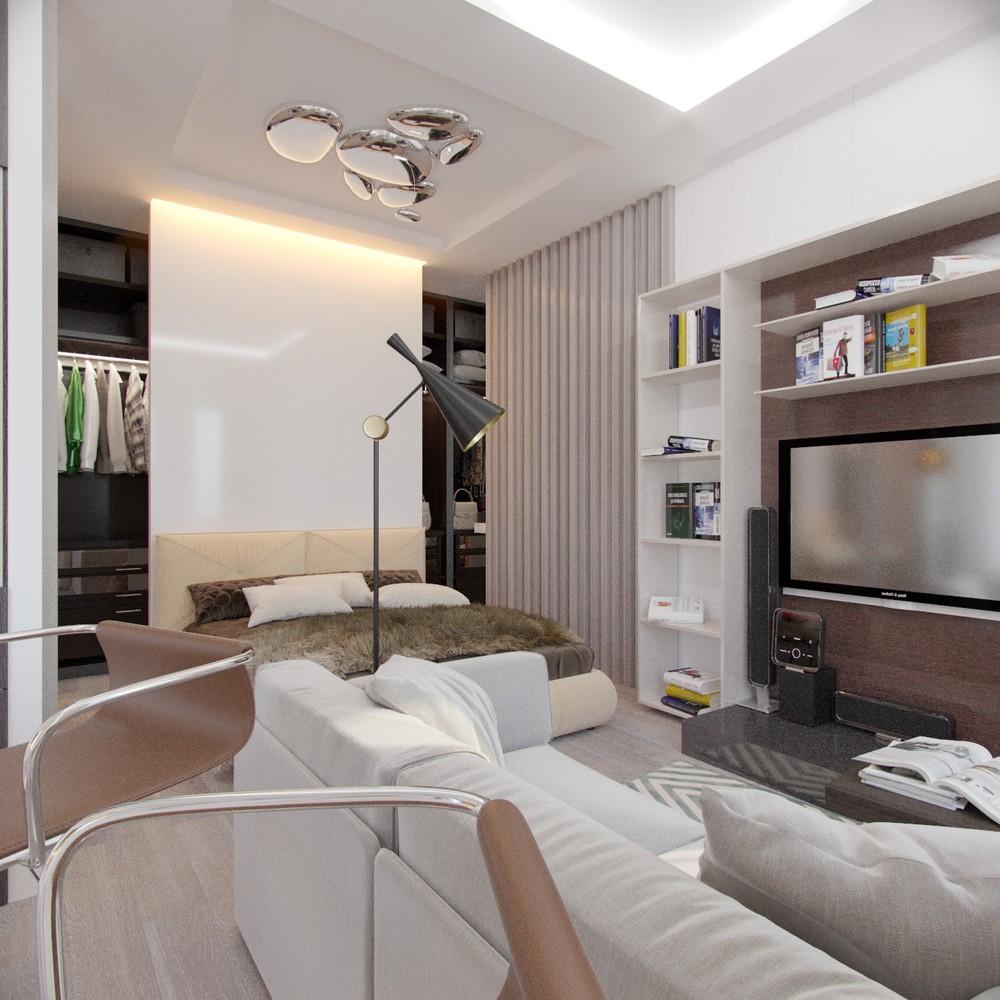 Необычные аксессуары в интерьере маленькой квартиры