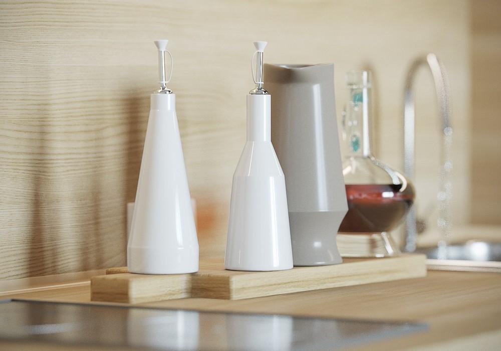 Кухонные аксессуары в интерьере маленькой квартиры