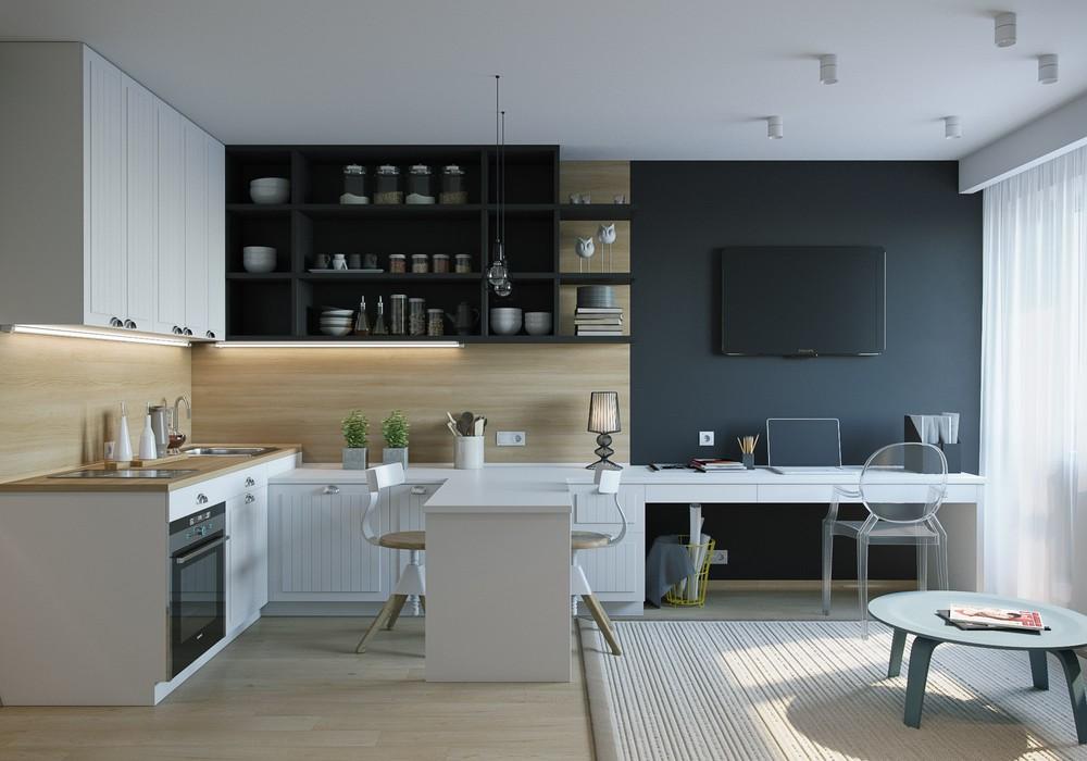 Интерьер маленькой квартиры лучшие решения