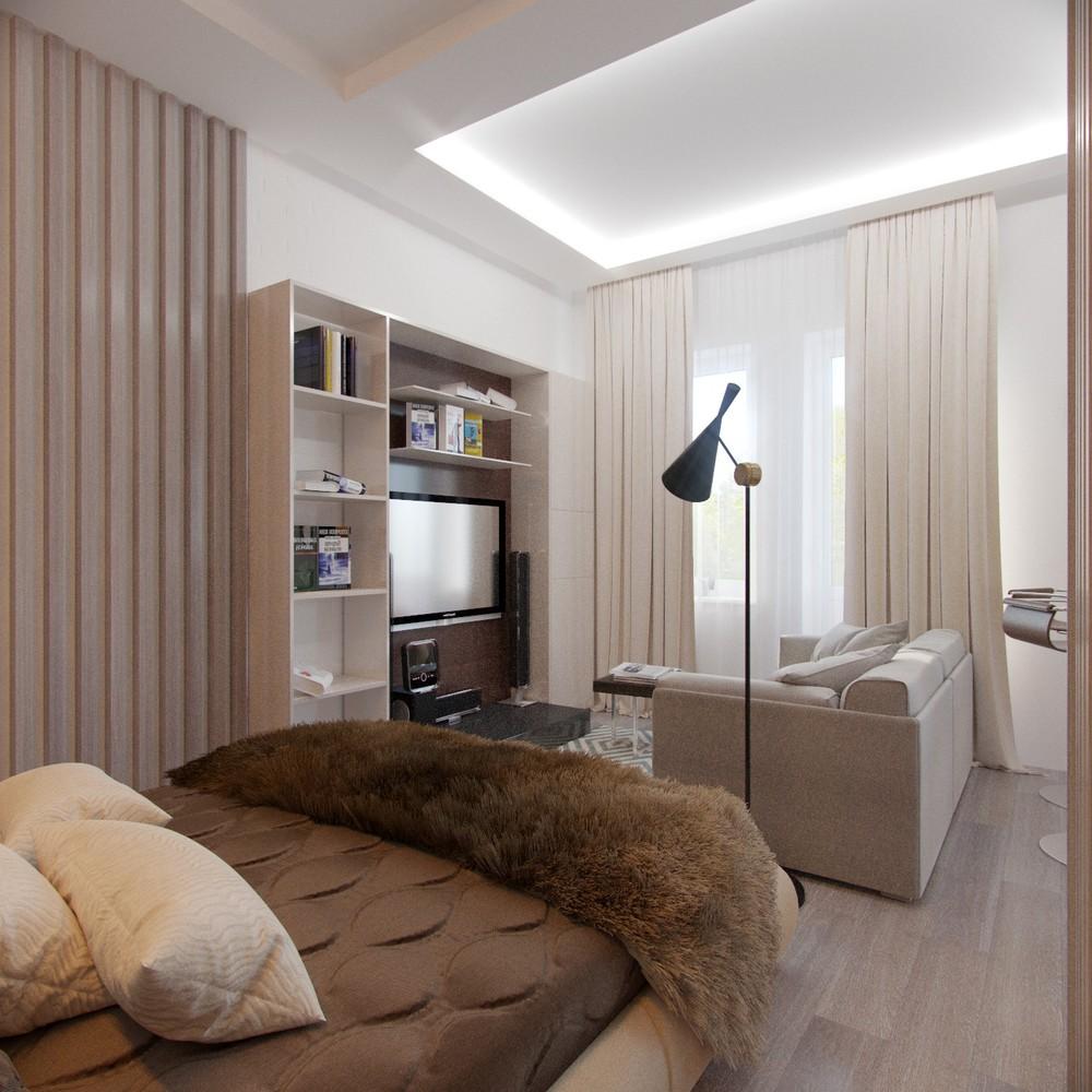 Зонирование в небольшой квартире