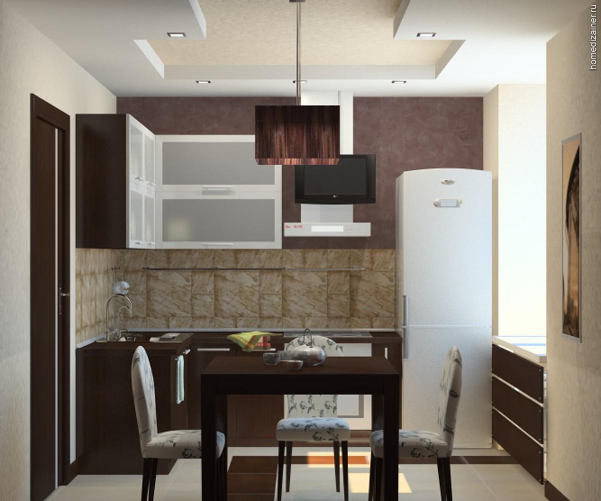 Кухня фото интерьер в квартире маленькой