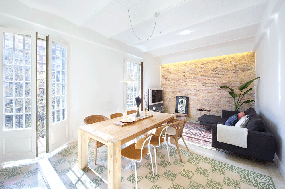 Интерьер маленьких квартир в испании