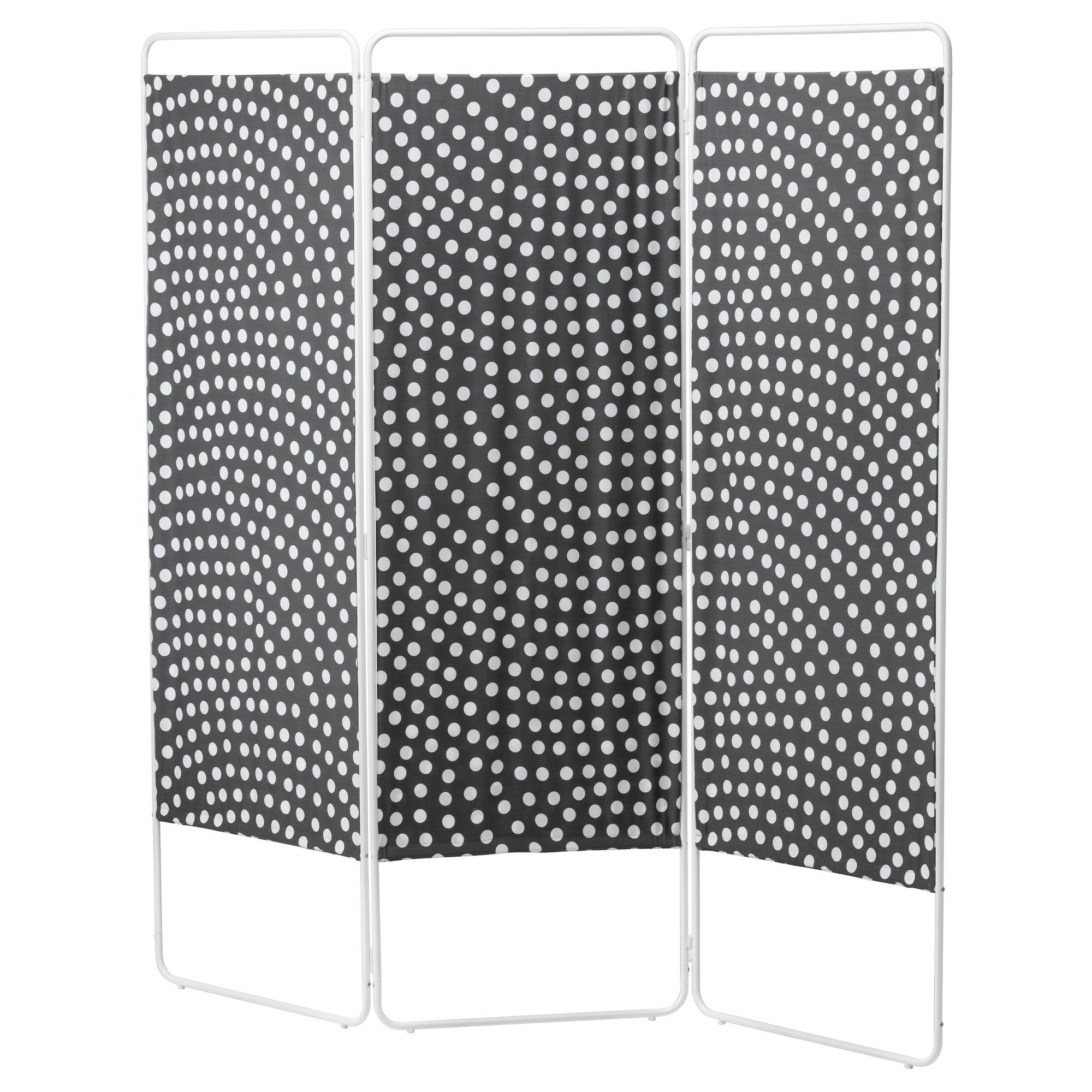 Вертикальная перегородка из ткани