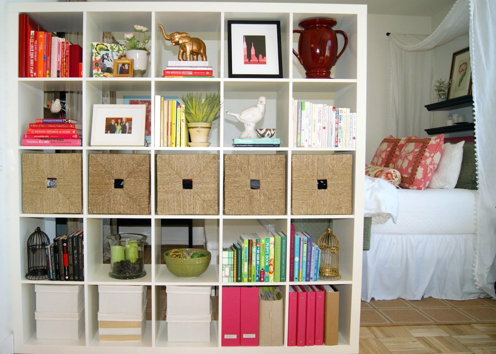 Вертикальная перегородка из книжного шкафа