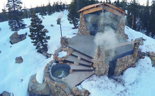 Фото домика в горах