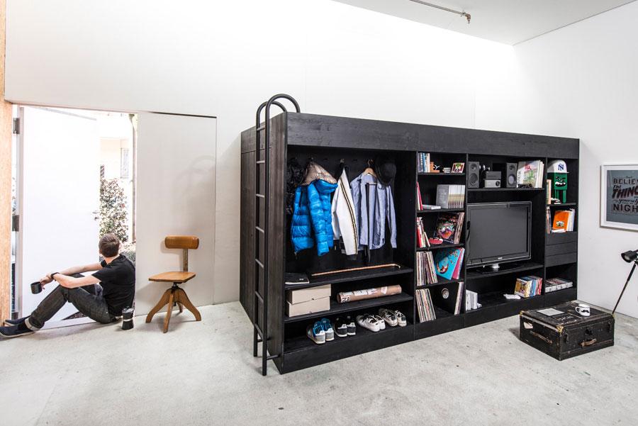 Функциональная мебель для маленькой квартиры