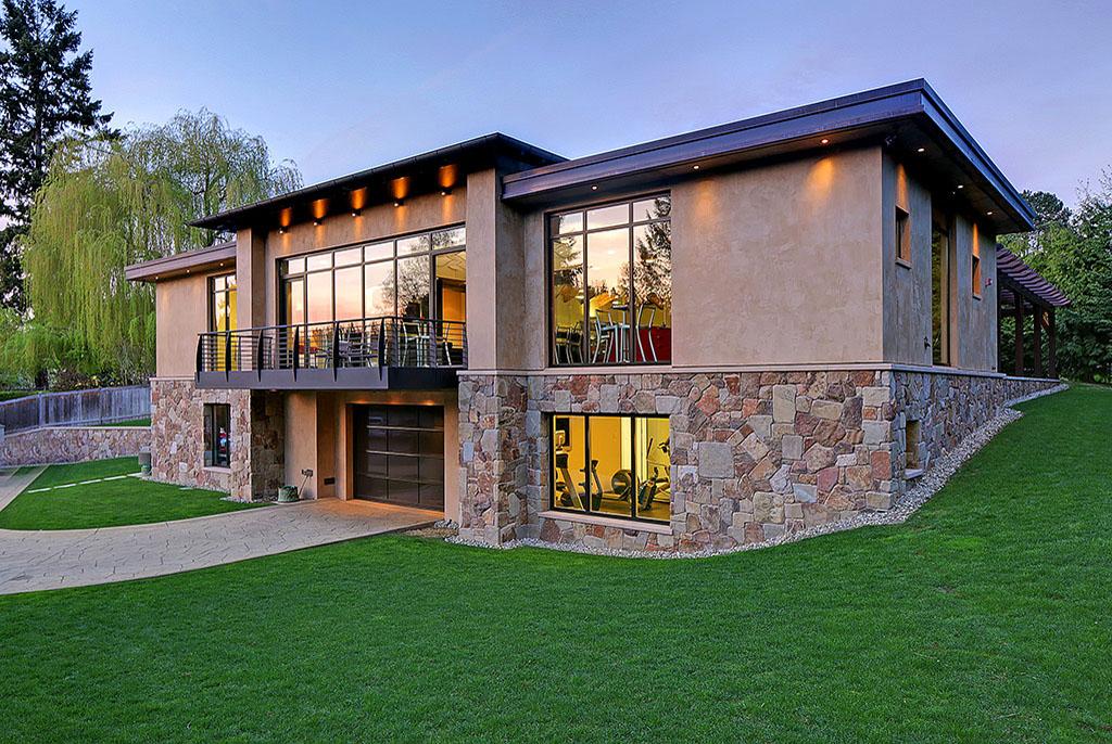 Гараж дом дизайн