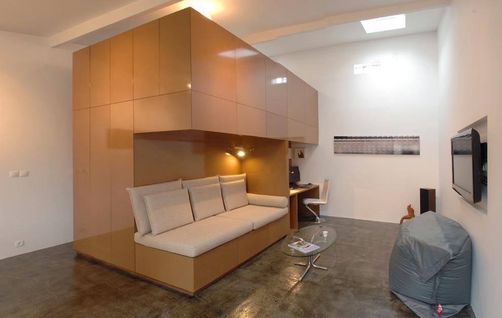Модернизация старого гаража в шикарные апартаменты