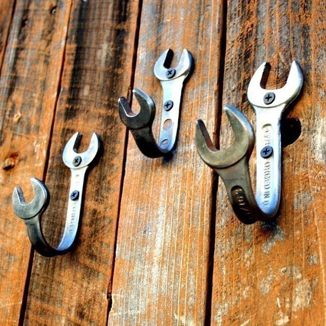 Крючки из неиспользуемых ключей