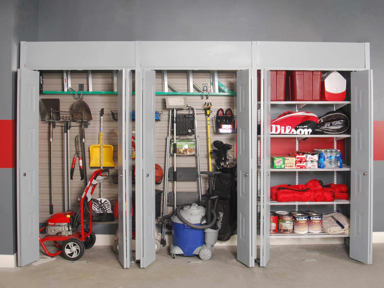 Система хранения вещей в гараже купить проекты гаража с мансардой на 1 машину