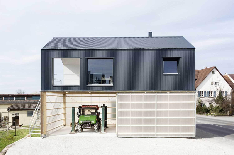 Дизайн интерьера гаража