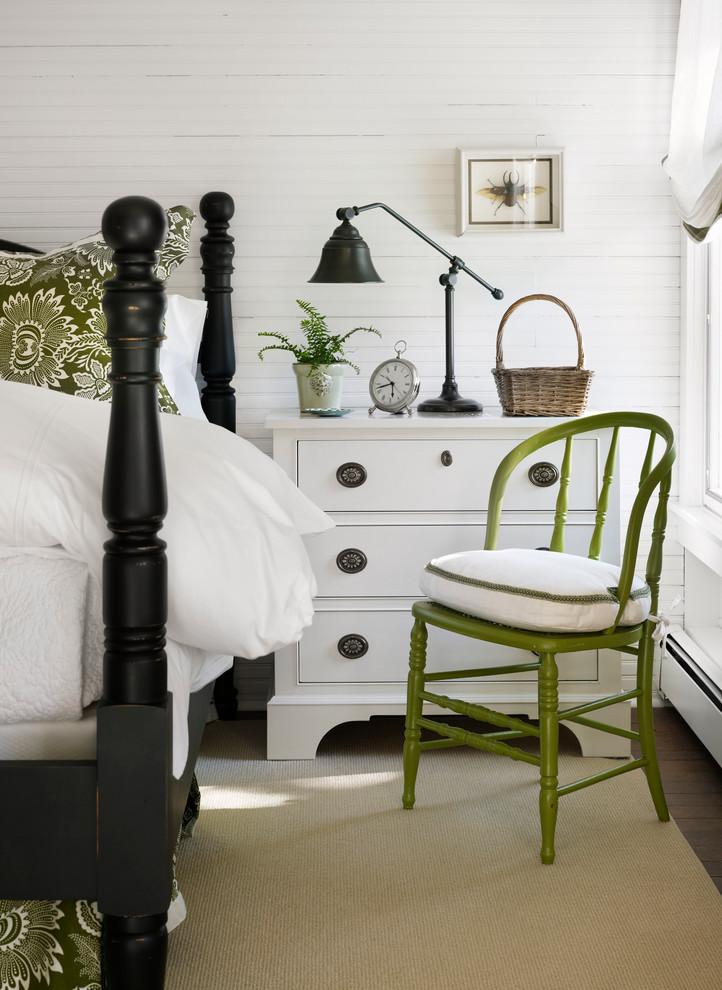 Оливковые акценты в спальне