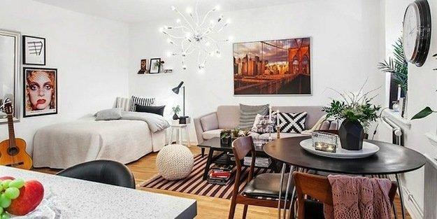 Спальня гостиная - как правильно совместить две зоны
