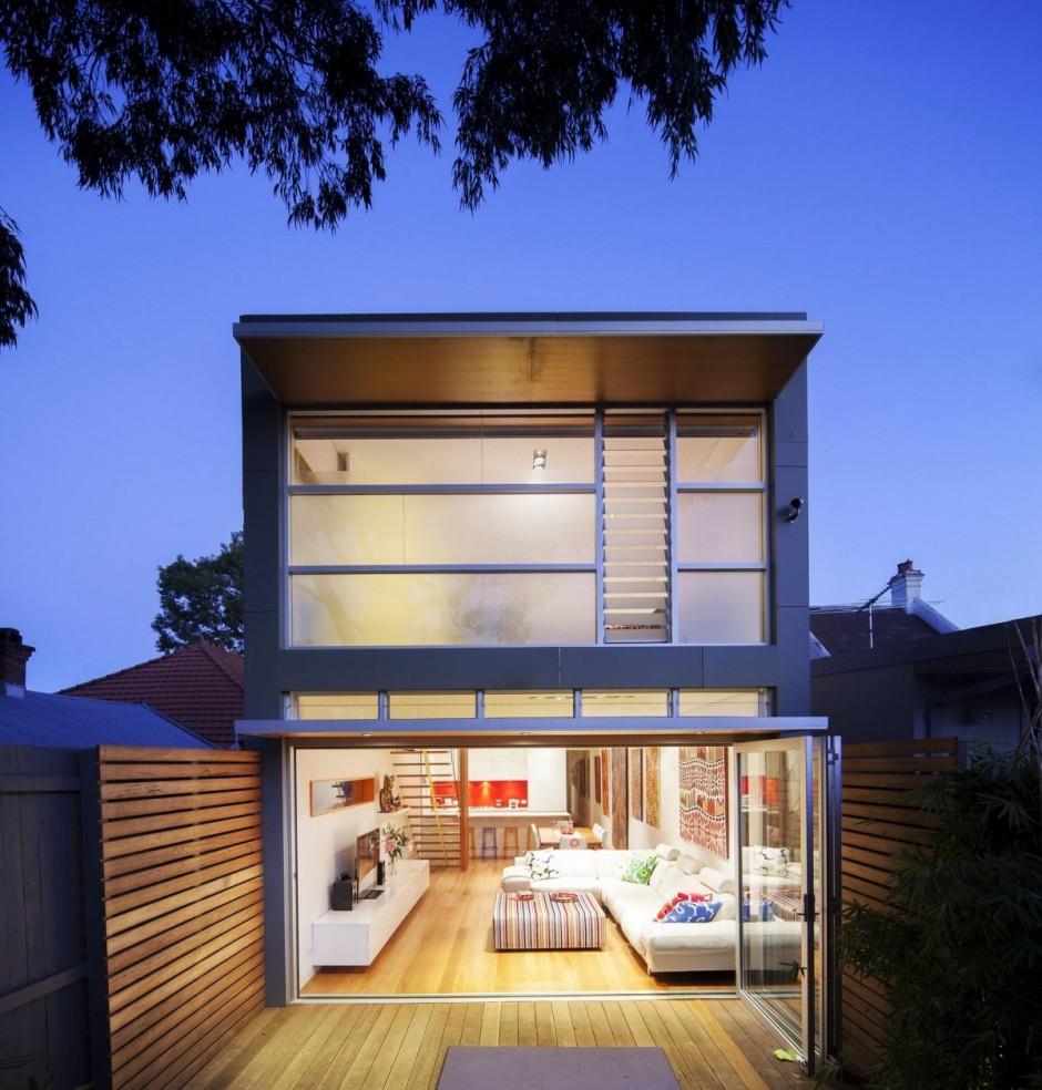 Пристройка к частному дому от Rolf Ockert Design