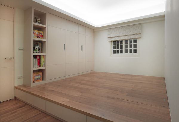 Системы хранения в маленькой комнате