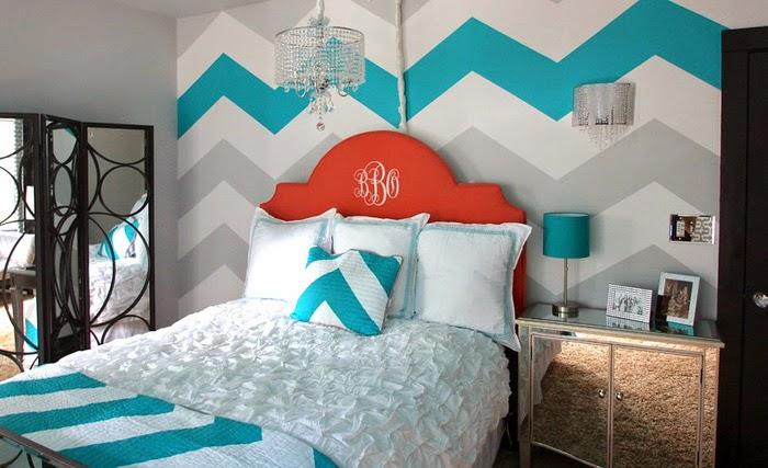 Дизайн интерьера с покраской стен